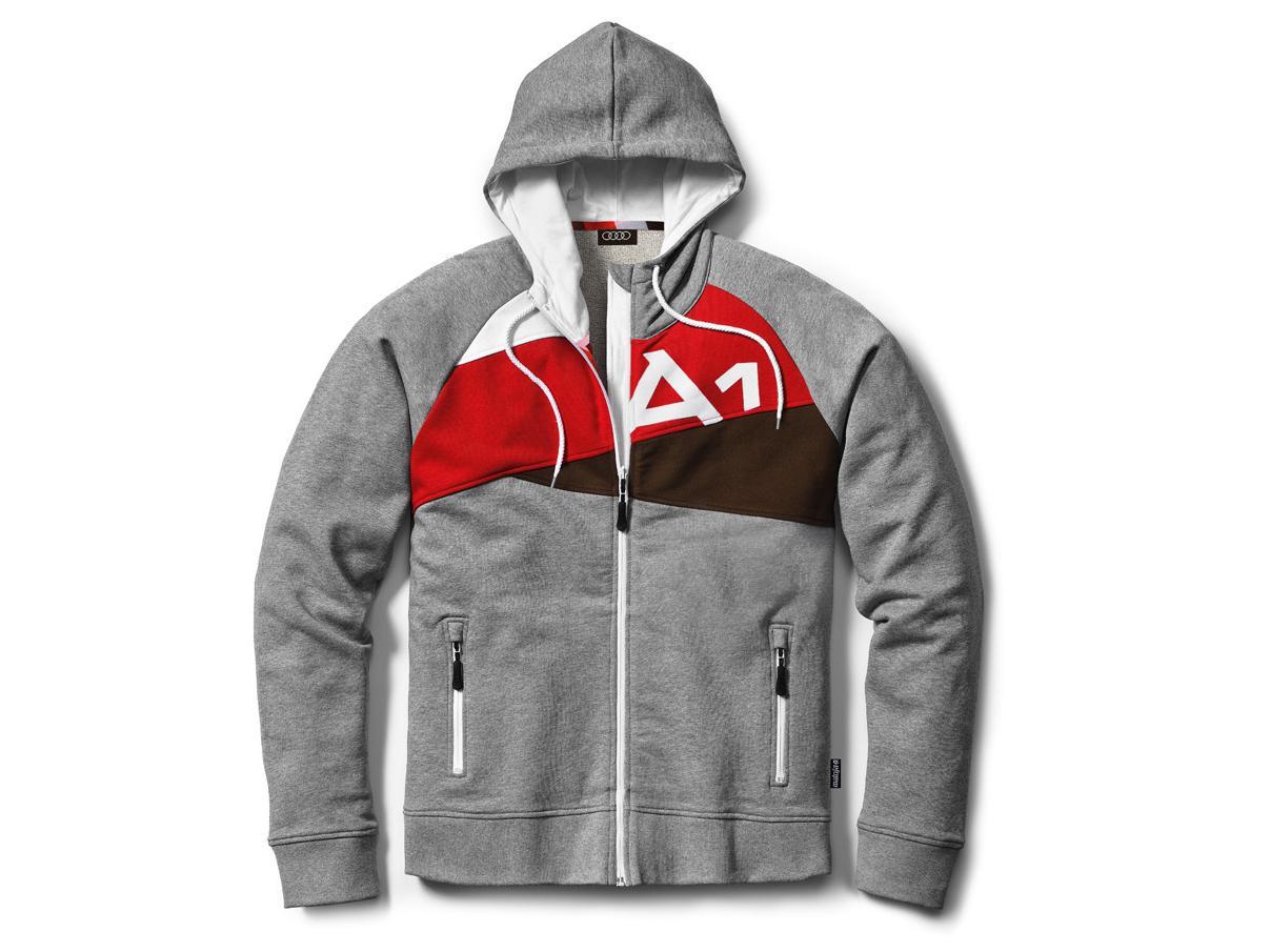 Кофта мужская с капюшоном Audi Men's A1 Sweater (размер M). Купить Кофта му